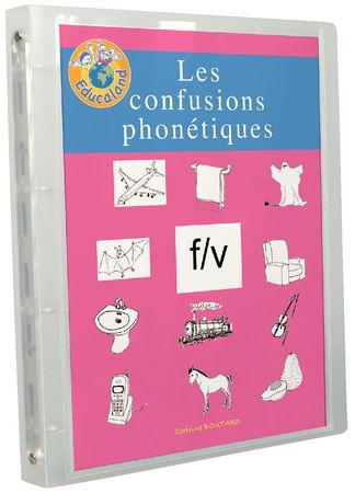 Les confusions phonétiques f/v