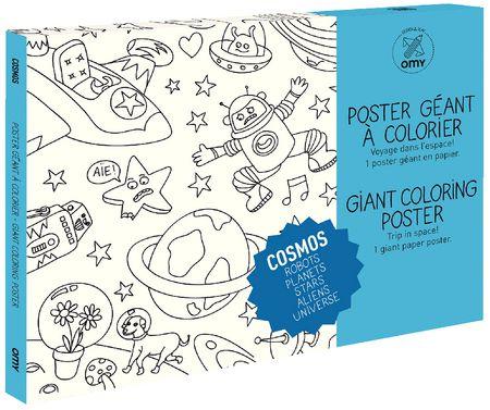 Coloriage géant : Cosmos