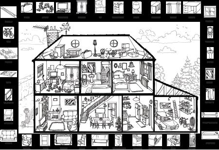 Vocabulaire : La maison