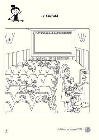 Mon cahier de Problèmes en images CP/CE1 - unité