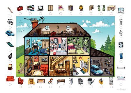 Vocabulario : En mi casa