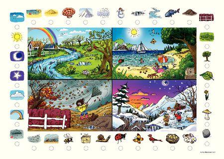 Poster + fascicule - Vokabular : Die natur