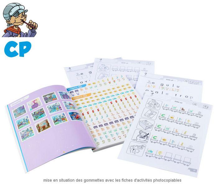 Le cahier de gommettes CP