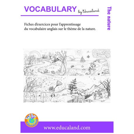Poster + fascicule - Vocabulary : The nature