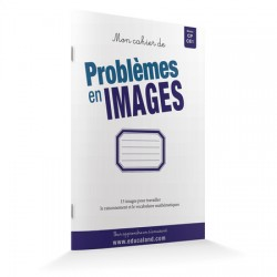 Mon cahier de Problèmes en images CP/CE1 - Lot 15