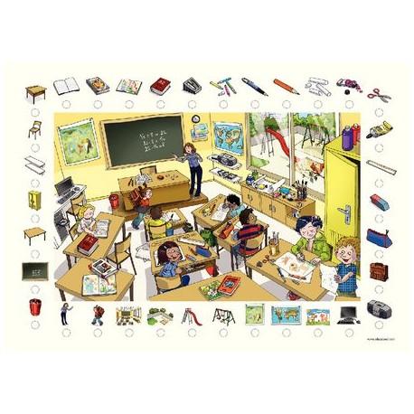 Poster + fascicule - Vokabular : In meiner klass