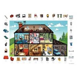 Poster + fascicule - Vocabulario : En mi casa