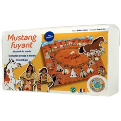 Mustang fuyant - Niveau 1 - Grande Section Maternelle