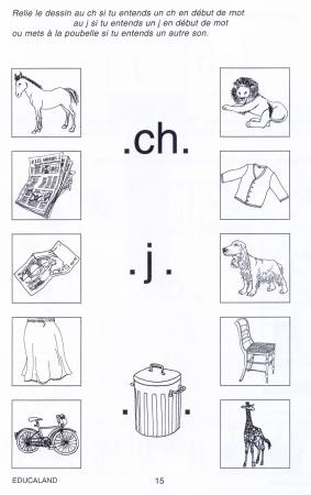 Les confusions phonétiques ch/j