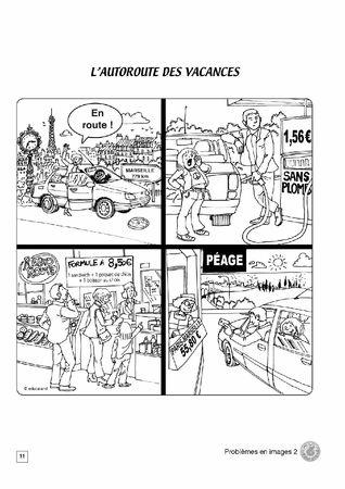 Problèmes en images 2 - Version école