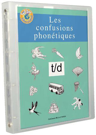 Les confusions phonétiques t/d
