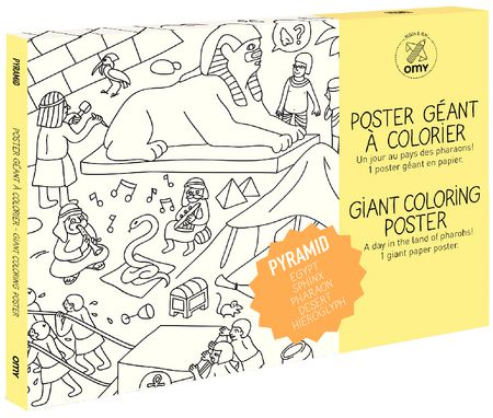 Coloriage géant : Pyramid