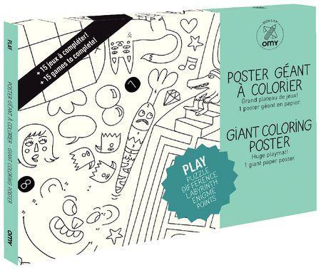 Coloriage géant : Play