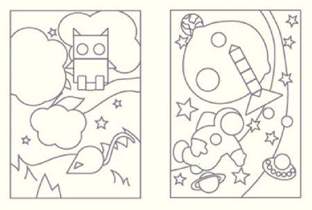 Kit cartes à sable