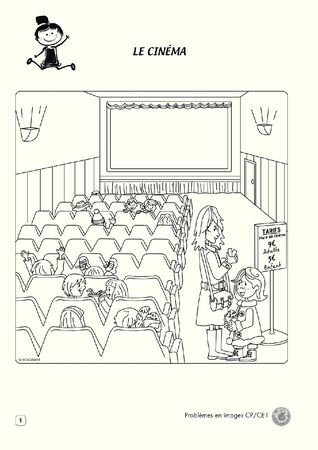 Mon cahier problèmes en images - CP/CE1 (lot de 5)