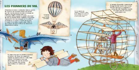 Collection inventions et découvertes : Les avions