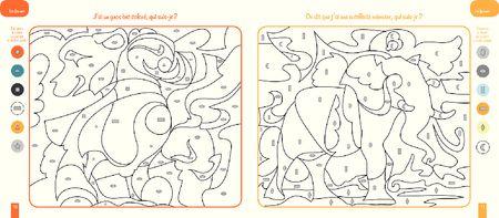 Coloriages magiques : Les animaux