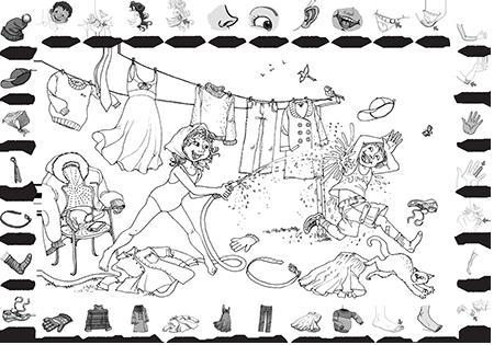 Poster + fascicule - Vokabular : Der korper die kleidung