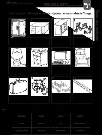Poster + fascicule - Vocabulaire : La maison