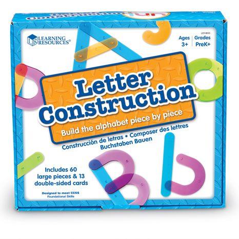 Atelier construction des lettres