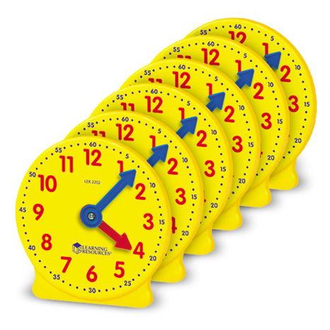 Mini horloges x6