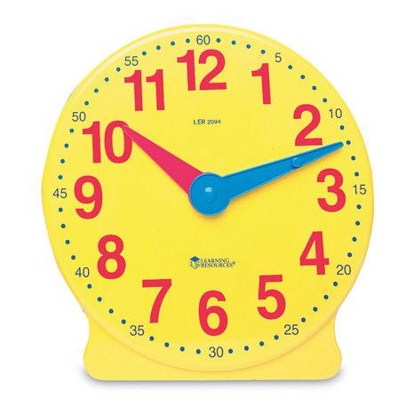 Horloge de démonstration