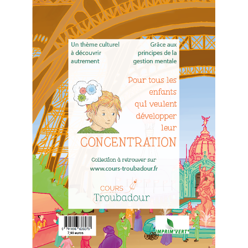 Carnet concentration - Tour Eiffel