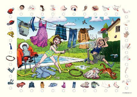 Poster + fascicule - Vocabulario : Cuerpo humano y vesti