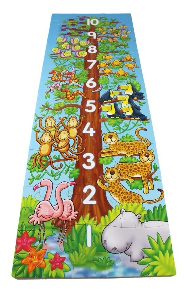 Grand puzzle un, deux, trois