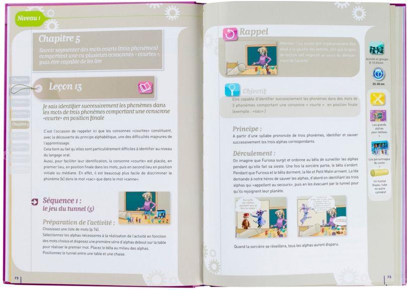 Livre du maître et fichier d'activités de la planète des alphas