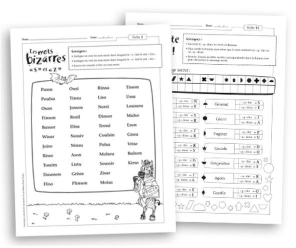 L'orthophonie à la maison - Règles contextuelles en lecture et orthographe