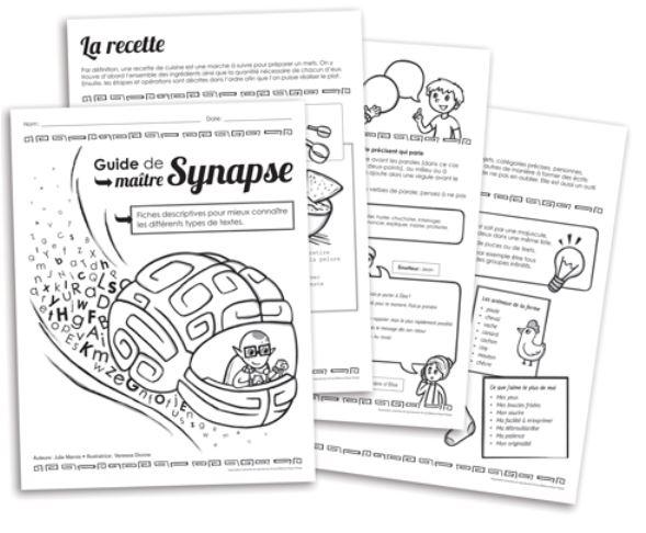 Les pros de l'écriture avec maître Synapse
