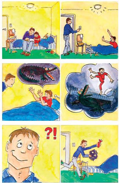 Courage ! - Des histoires en images sur les peurs enfantines