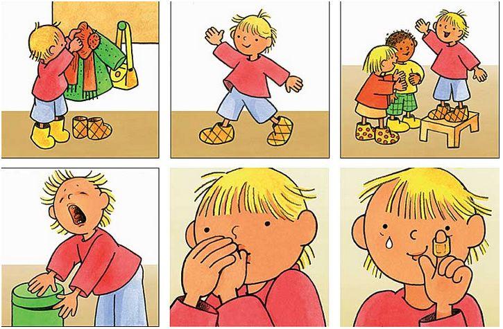 Pepi au jardin d'enfants