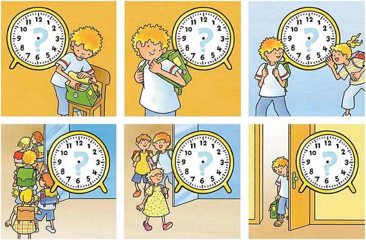 Mo découverte le temps - Boite d'images
