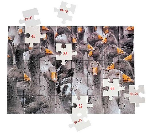 MATH puzzles Soustraction jusqu'à 100