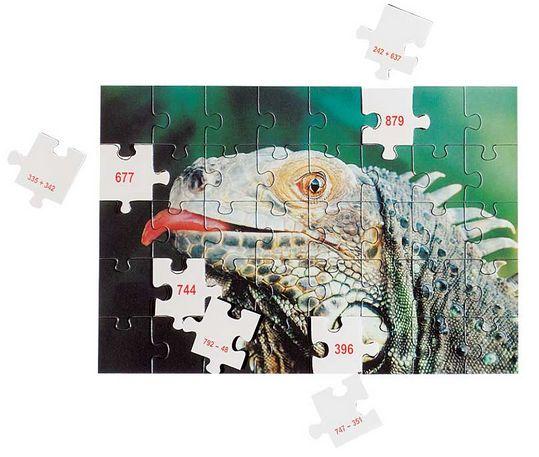 MATH puzzles Addition/soustraction jusqu'à 1000
