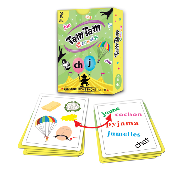 Tam Tam Circus, Les confusions phonétiques ch/j