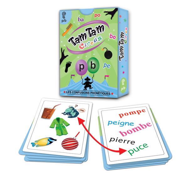 Tam Tam Circus, Les confusions phonétiques p/b