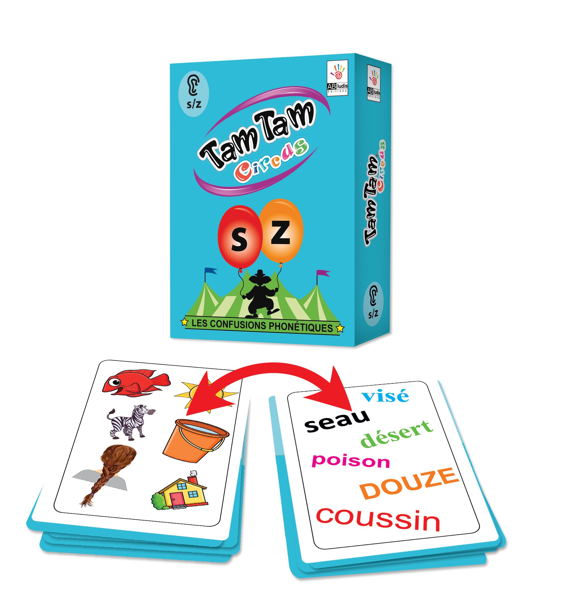 Tam Tam Circus, Les confusions phonétiques s/z