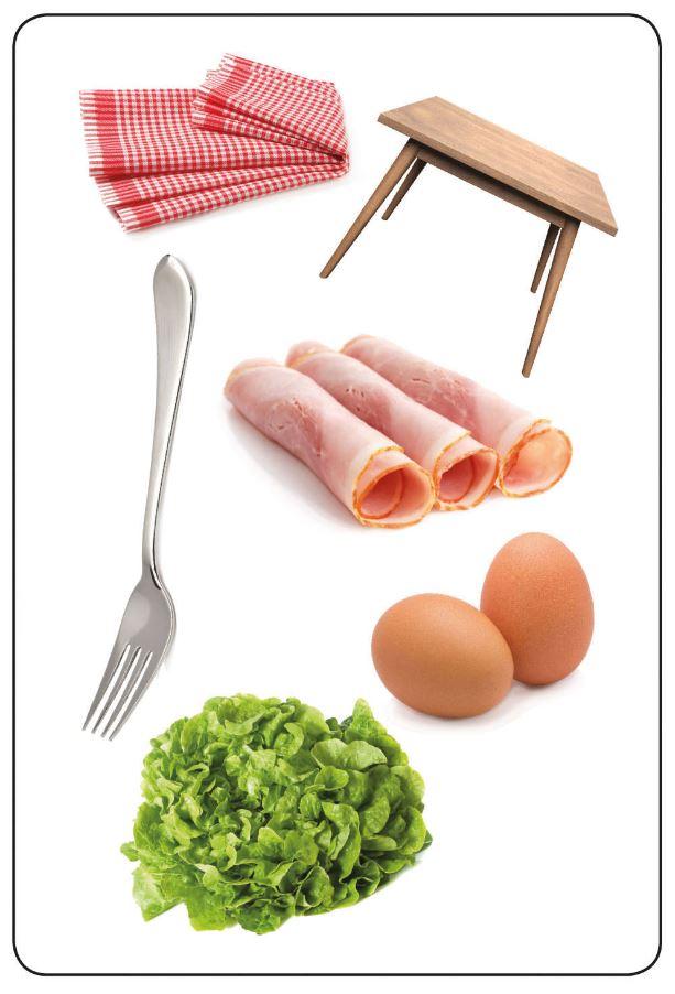 Tam Tam MEMO - Les objets de la cuisine
