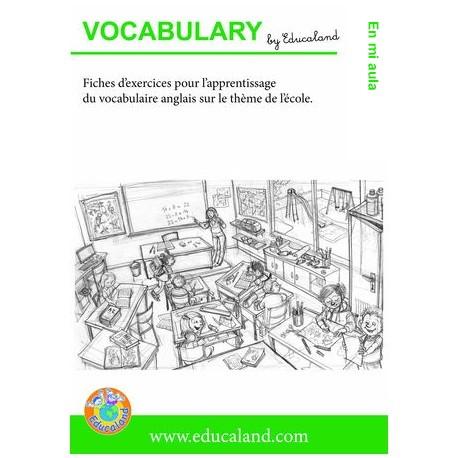 Poster + fascicule - Vocabulario : En mi aula
