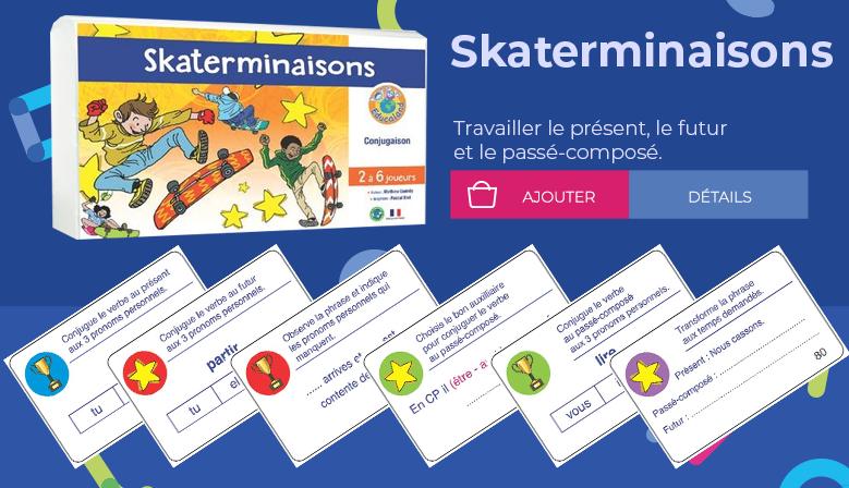Skaterminaisons - Educaland Éditions