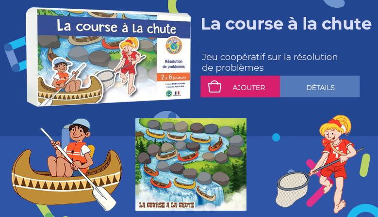 La course à la chute - Educaland Éditions